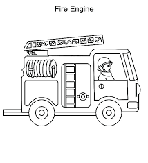 Fire Truck Coloring Pages Fire Trucks Pictures To Color Firetruck