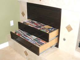 cd storage cabinets this custom four drawer media storage cabinet was designed to slip into an