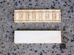 Listellos And Decorative Tile Antique Beige Travertine Listello Border Trim Tile Decorative 66
