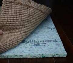 com carpenter 8 x10 7 16 thick foam rebond spillguard resistant rug pad home kitchen