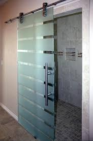sliding door showers door frosted glass sliding glass door showers