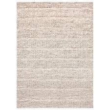 khadi 1099 handwoven wool sari silk rug 190x280cm beige australian ping