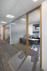 modern office door. Office At BGC Engineering - Interior Design By SSDG Interiors Inc. Wood Modern Door