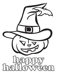 Happy Halloween Coloriage Goshowmeenergy