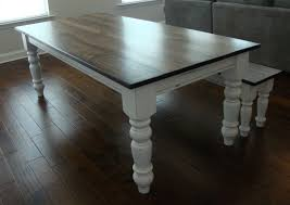 Country Dining Tables Classic Chunky Turned Leg Farm Table Elegant French Country Dining