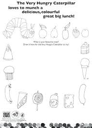 Hungry Caterpillar Coloring Pages Very Hungry Caterpillar Coloring