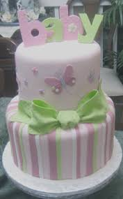 9 Butterfly Baby Shower Cakes For Girls Photo Butterfly Baby
