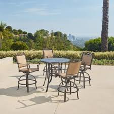 bar height patio dining sets patio
