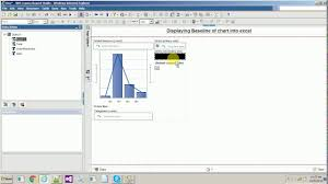 Ibm Cognos 10 Report Studio Exporting Chart Baseline Into Excel