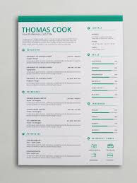 Green Creative Resume Template