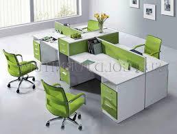 office workstation desks. modren desks maybe a bit too much green  but like the desks and divider height open office  workstations  intended office workstation desks w