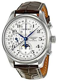 amazon com longines master collection mens watch l2 773 4 78 3 longines master collection mens watch l2 773 4 78 3