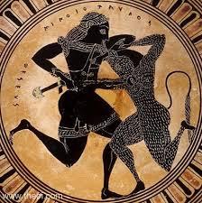 MINOTAUR (Minotauros) - Bull-Headed Man of Greek Mythology