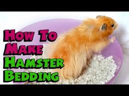 diy hamster bedding old method new