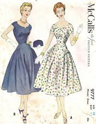 Retro Dress Patterns