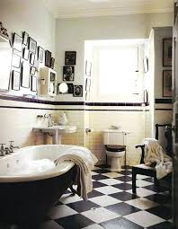 black and white bathroom calm design with relaxing bathtub idea lovely picture frames coastal stripe accessories