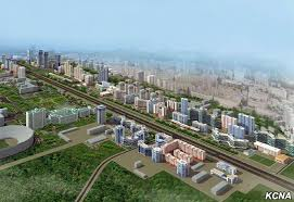 Image result for pyongyang construction ryomyong street