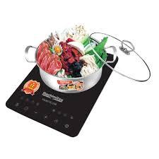 Bếp Từ Đơn Cao Cấp Cảm Ứng - Tặng Xoong Lẩu- Hachimitsu HC 238- Hàng Chính  Hãng