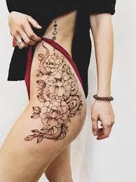 татуировка змея на бедре Ellen Autumn Tattoos татуировки