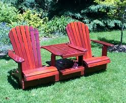 double adirondack chair plans. Adirondack Double Chair Chairs With Table Tete A Plans K