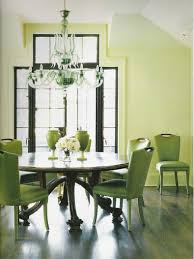 Dining Room:Glamorous Small Dining Room Idea With Large Bay Windows And  Glossy Round Table