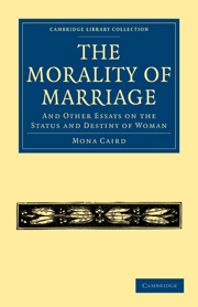 morality marriage and other essays status and destiny w the morality of marriage and other essays on the status and destiny of w