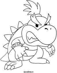 Disegni Di Super Mario Bros Da Colorare Giocabimbo