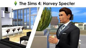 suits harvey specter office. The Sims 4: Harvey Specter (CAS And Apartment Speed Building) SUITS Suits Office
