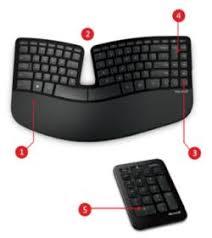 ergonomic gift microsoft sculpt keyboard
