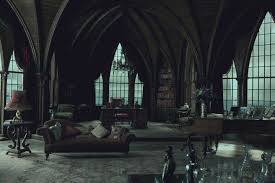 Goth Bedroom Furniture Dark Shadows The Story Behind The Grand Gothic Set Design