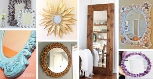 Diy mirror frame ideas Egg Carton 29 Fancy Diy Mirror Ideas That Will Look Great In Your Home Homebnc 29 Best Diy Mirror Ideas And Designs For 2019