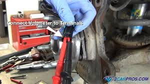 how to test a wheel speed sensor in under 15 minutes  at How To Check Wiring Harness With Multimeter