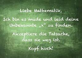 5er Packung Postkarte Sprüche Humorliebe Mathematik Ich Bin Es