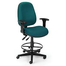teal office chair. Black And Teal Fabric Computer Desk Chair With Drafting Kit Office