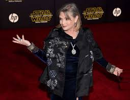 carrie fisher attends the premiere of walt disney pictures and lucas s star wars the
