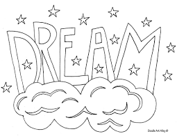 Free Printable Word Coloring Pages From Doodle Art Alley Coloring