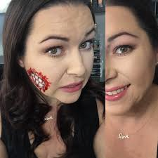 how to use liquid latex look fx makeup