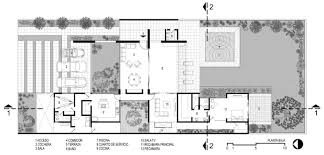 modern house plans interior courtyard mexico sea amodern brilliant