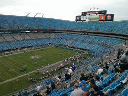 Bank Of America Stadium Section 519 Row 11 Seat 15