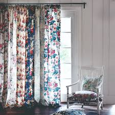 french door blinds and curtains can be difficult to select however these sheer panel curtains are a pretty pick for a vintage inspired interior voile