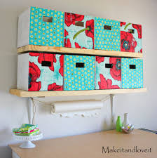 Decorating Cardboard Boxes Craft Room Part 100 covered cardboard storage boxes Make It and 9