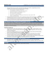 Resume Samples Chesepeake Career Management Services