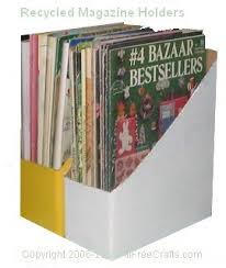 Cardboard Magazine Holders Recycled Magazine Boxes 54