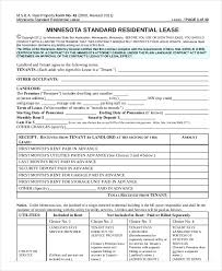 Printable Residential Lease Agreement - 13+ Free Word, Pdf Documents ...