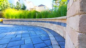 Retaining Wall Seating Retaining Wall Design Construction Moscarino Outdoor Creations