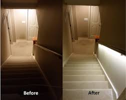 stair lighting. Introduction: Stair Lighting Solution With LED Strips