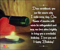 Love Birthday Quotes Best Birthday Love Quotes 48 Quotes Straight From The Heart