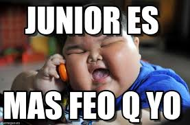 Junior Es - Asian Fat Kid meme en Memegen via Relatably.com