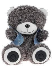Купить <b>Портативная</b> аудиосистема <b>RITMIX ST</b>-<b>250</b> Bear серый по ...