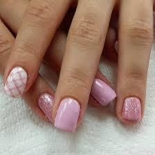 nail art designs spring 2015. pink plaid nail art design designs spring 2015 t